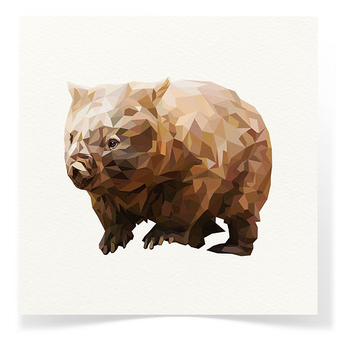 Wombat Greeting Cards 3pack