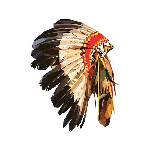 Native American Indian War Bonnet Digital Download