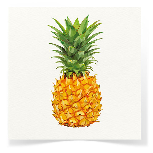 Pineapple Greeting Cards 3pack