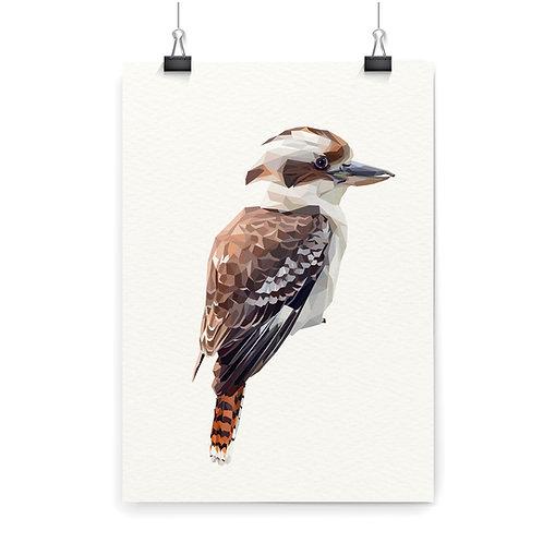 Kookaburra Wall Art Print