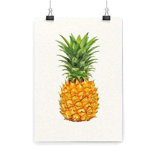 Pineapple Wall Art Print