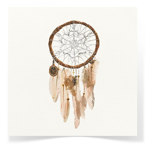 Dreamcatcher Greeting Cards 3pack