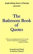 The Bathroom Book of Quotes front cover.
