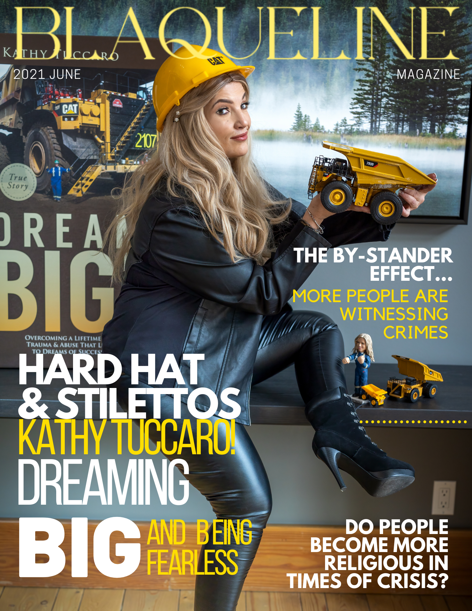 BLAQUELINE Magazine Covers