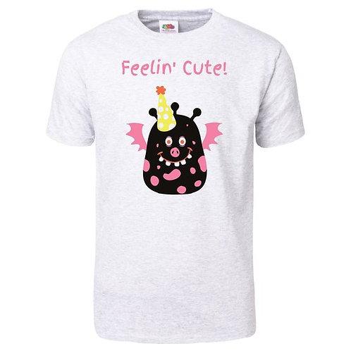 "Women's T-shirt ""Feelin Cute"""