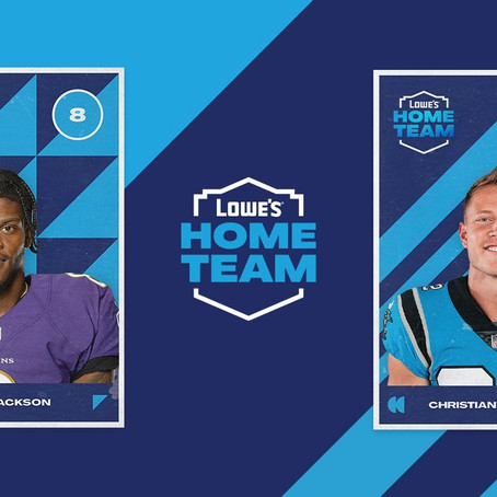 "Lowe's Unites NFL Fans with a New Type of ""Home Team"""