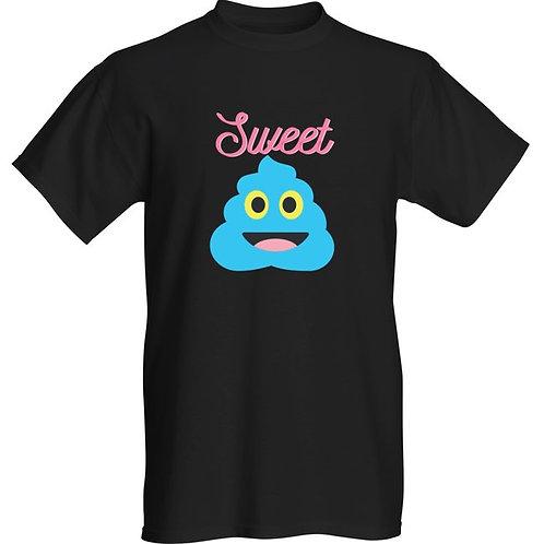 """Basic T-shirt """"Sweet Poop"""""""