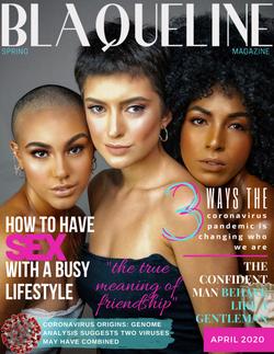 BLAQUELINE Magazine Covers (1)