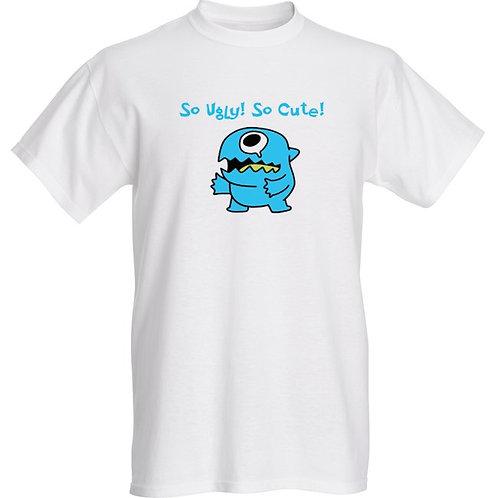 "Basic T-shirt ""So Ugly! So Cute!"""