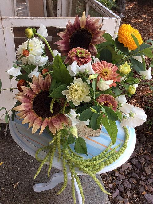 Low Profile Vase/Container