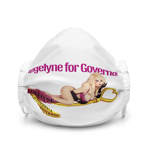 Angelyne for Governor Face Mask