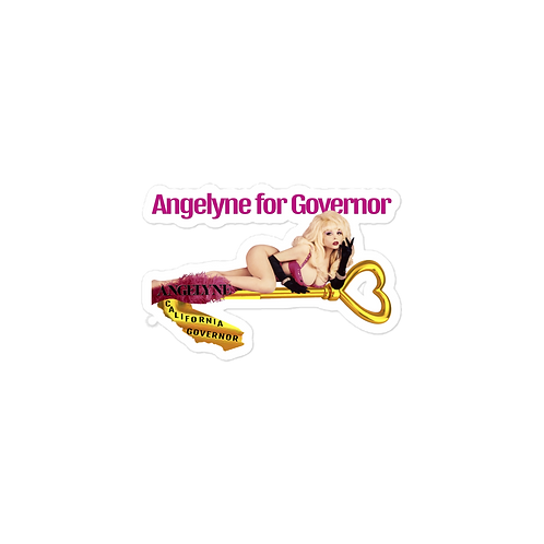 Angelyne for Governor Stickers