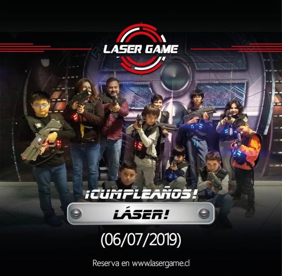 Cumpleaños LaserGame