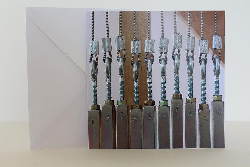 'Counterbalance' Greetings Card