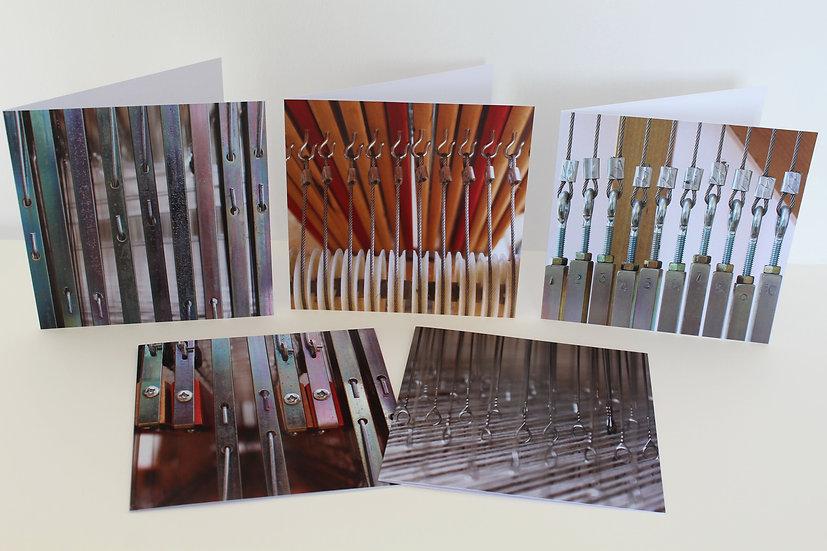 Set of 5 Greetings Cards