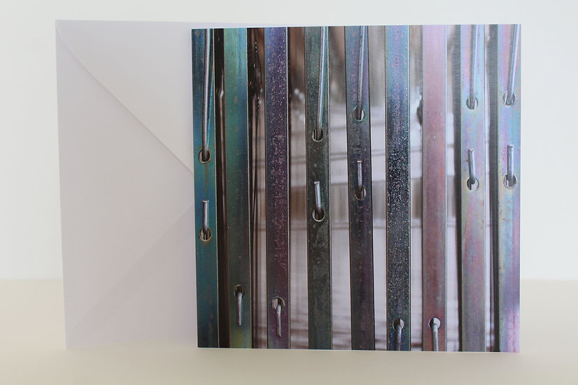 'Open Shed' Greetings Card