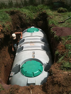 Septic tank repair and installation