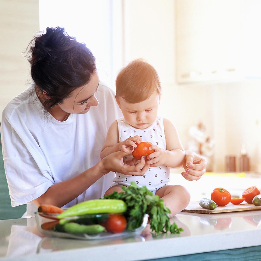 Alimentos recomendados para niños y bebés