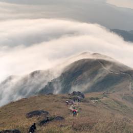Lantau Peak Summit -Hong Kong's Best Dawn view...