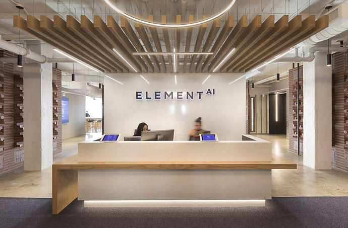 Element-AI-new-office-Montreal-Reception