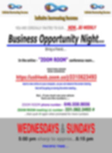 BUSSINESS OPPORTUNITY NIGHT -Infinite In