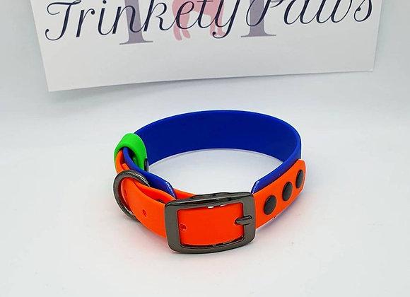 Biothane® two-tone Puppy Collar