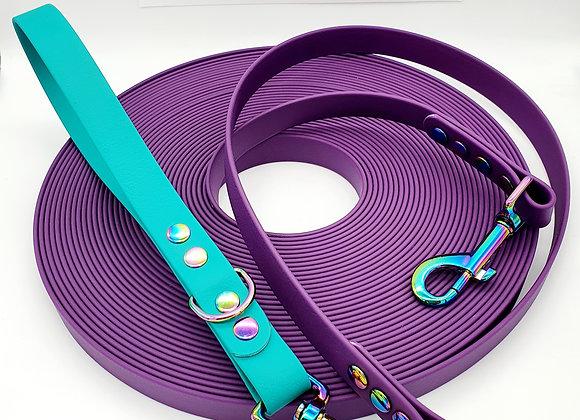Biothane® Long Line Leash - with detachable handle