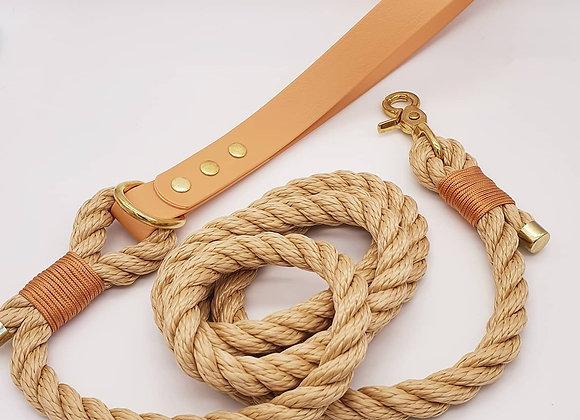 Twisted Rope Biothane Dog Leash