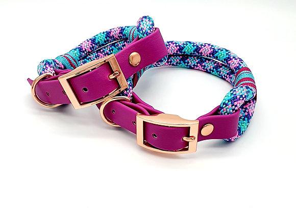 Premium Paracord Biothane Dog Collars