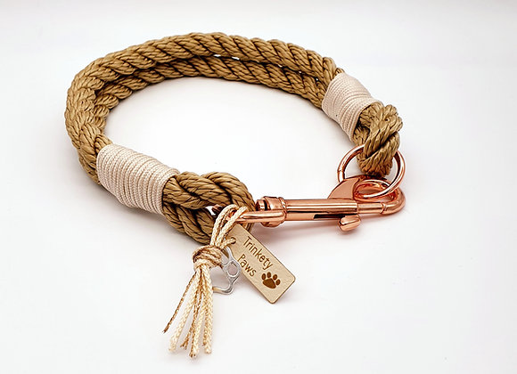 Twisted Paracord Rope Pet Collar
