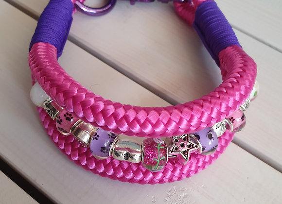 Pandora Style Paracord Dog Collar