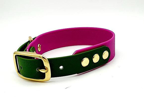 Biothane® two-tone Dog Collar