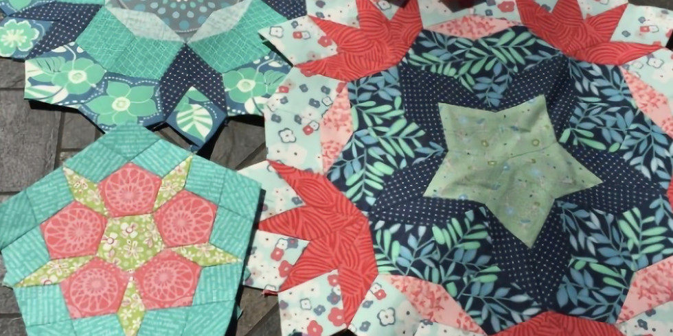 English Paper Piecing with Templates