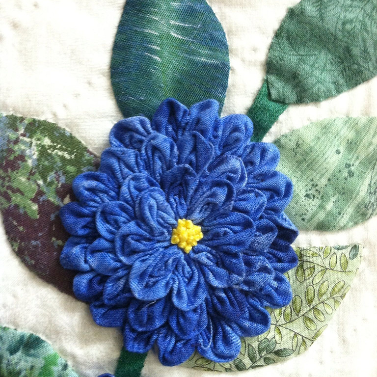 Ruched Flowers & Applique
