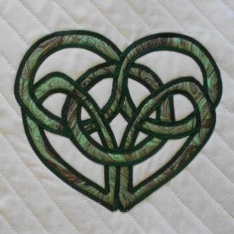 Celtic Knot Applique for Cheaters