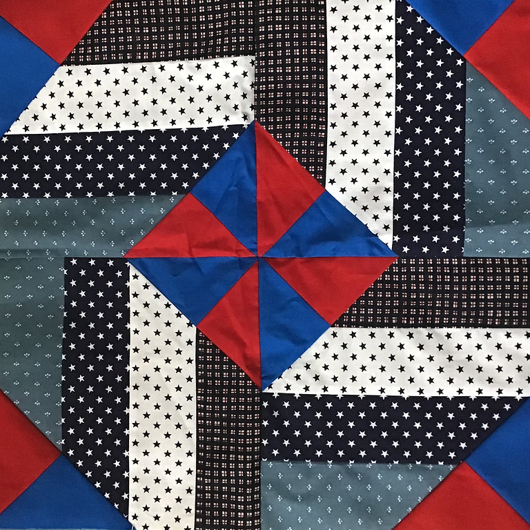 Pinwheels & Stripes- A Quilts of Valor Project-FREE Sit N Sew