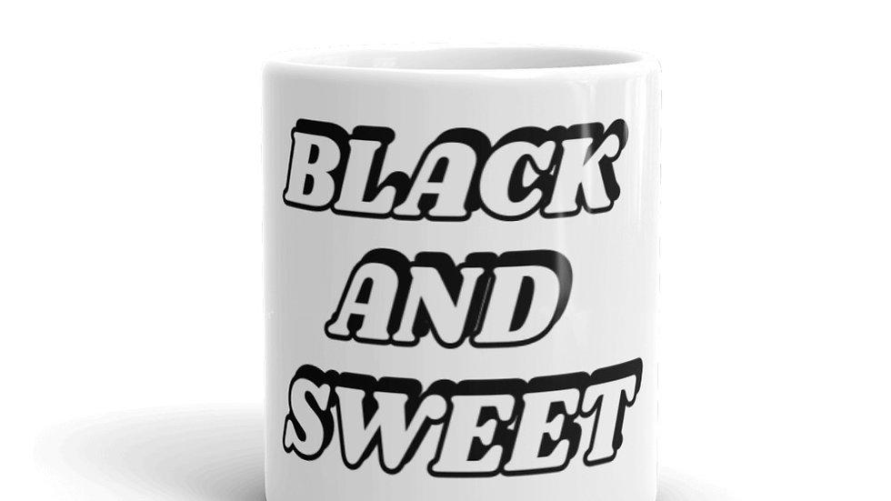BLACK AND SWEET Mug