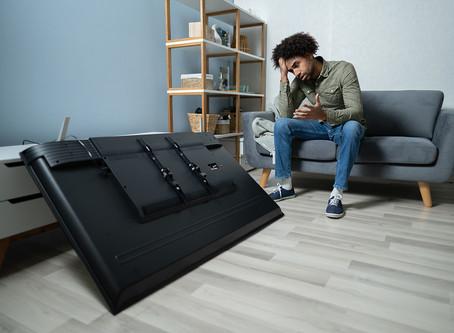 TVs Take The Brunt Of Lockdown Damage