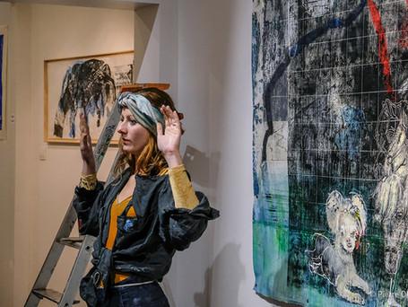 Tereza Lochman, artiste exposé actuellement à la galerie
