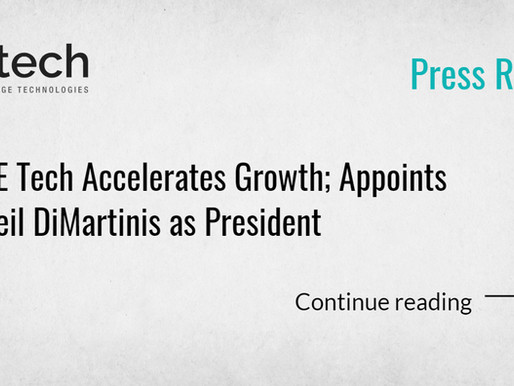CE Tech Accelerates Growth; Appoints Neil DiMartinis as President