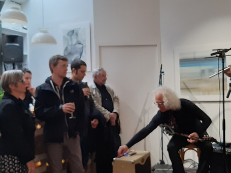 Quentin Coppalle accompagné de Philliphe Marcel Iung