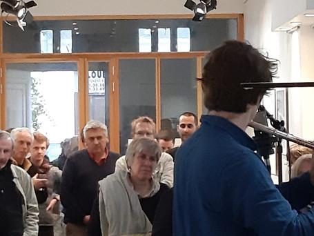 Quentin Coppalle accompagné de Philliphe Marcel Iung, création sonore