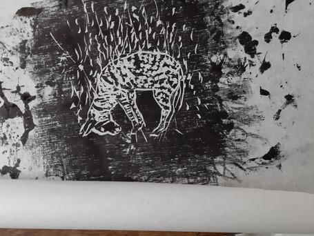 Oeuvre d'un membre de l'atelier gravure