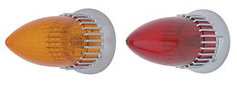 CADILLAC TAIL LIGHT - AMBER & RED