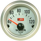 WATER TEMP GAUGE - SILVER