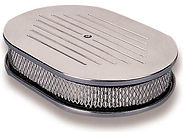 OVAL ALUMINIUM AIR CLEANER