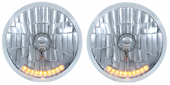 7 INCH HEAD LIGHT - LED INDICATOR