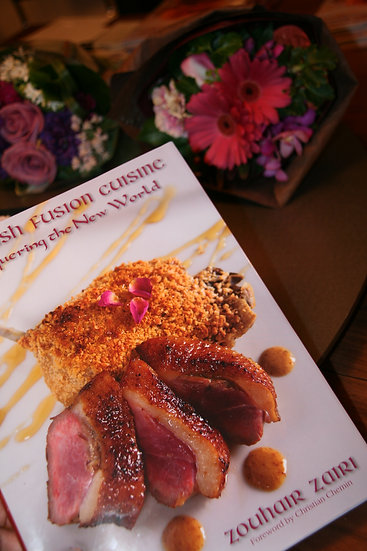 Signed Hard Cover Conquering the New World Moorish Fusion Cuisine