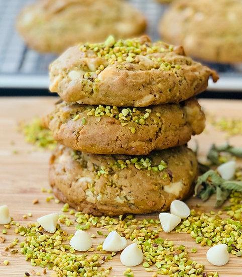 "Lemon Verbena Pistachio Cookie ""The Ultimate Tea Cookie"""