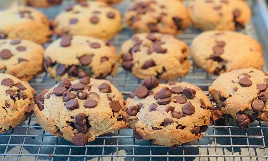 The Gluten Free Chocolate Chip AKA The Butter Less Cookie